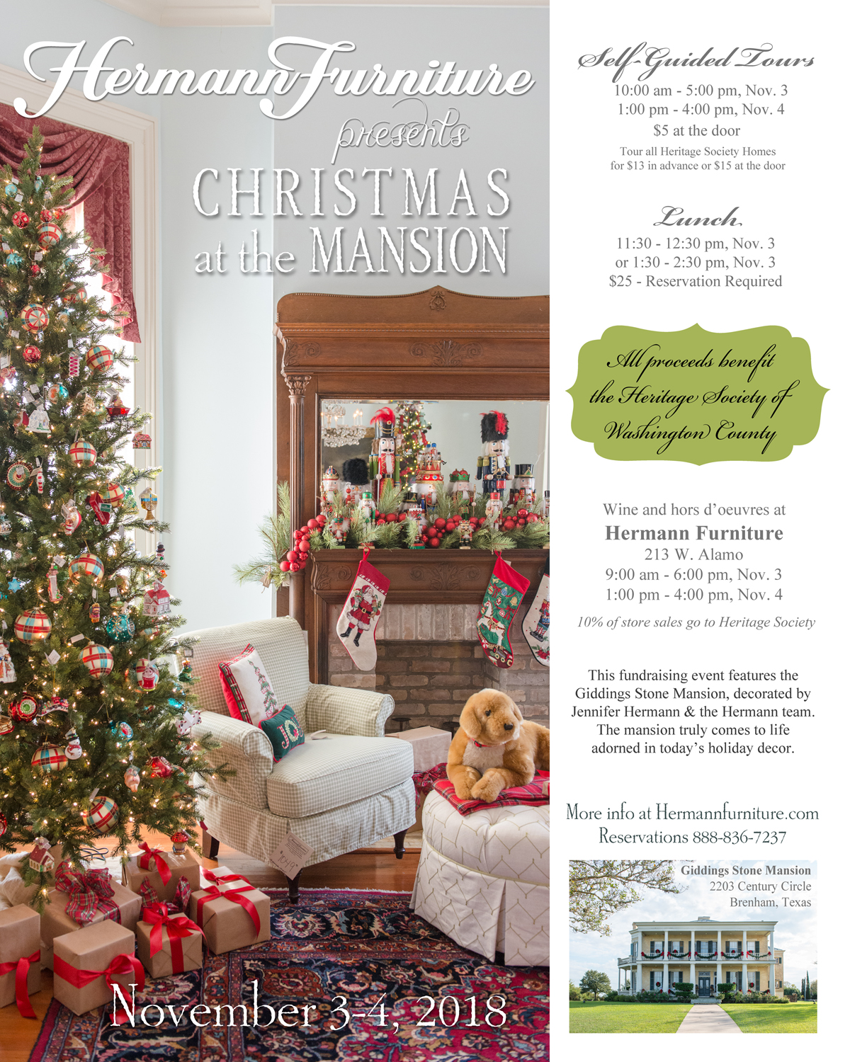 Christmas At The Mansion: Home For The Holidays